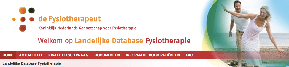 SpotOnMedics_Landelijke_Database_Fysiotherapie_Claudicatio