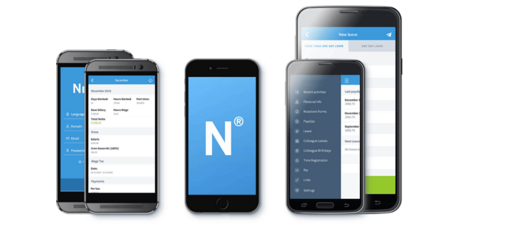SpotOnMedics Personeel Mobiele Applicatie voor iPhone / Android.