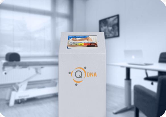 SpotOnMedics Zuil QDNA | Marketing voor uw praktijk
