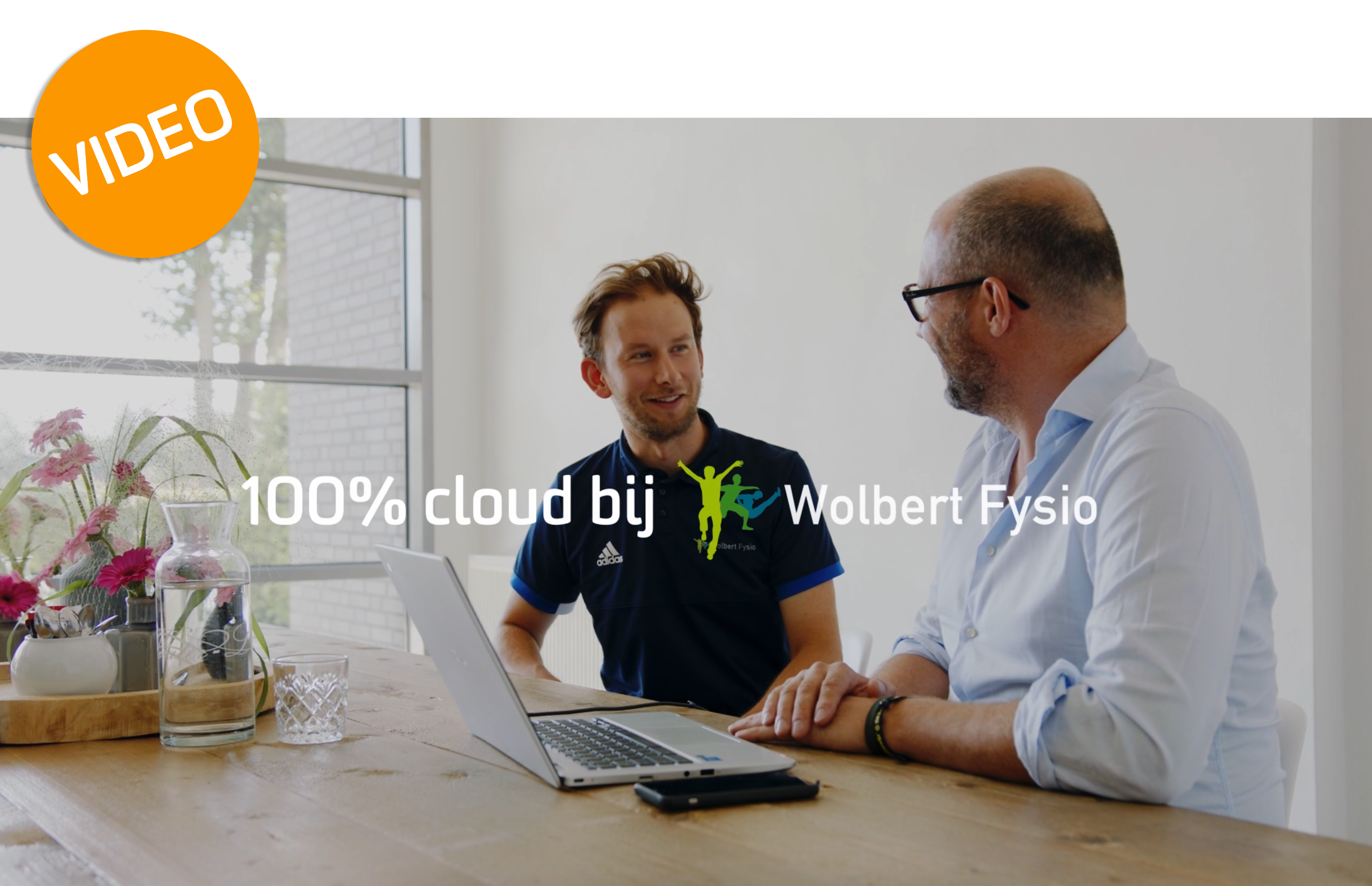 Bas Wolbert en Thijs Schamp over 100% cloud